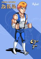 Double Dragon - Billy Lee by Rukasusan