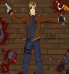Leon S. Kennedy Loves His Job by ShiOkami-chan