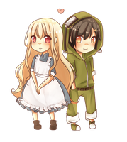 Marry and Seto by Rmblee