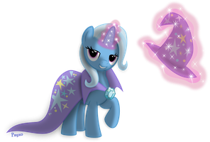 The Great and Powerful Trixie by Psyxofthoros