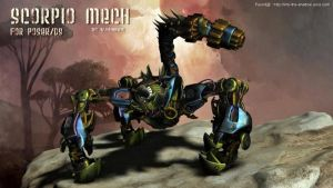 Scorpio Mech, by Summoner by FantasiesRealmMarket