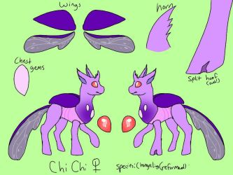 Chi Chi - reference by lizardbreath902