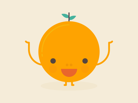 Happy Orange by apparate