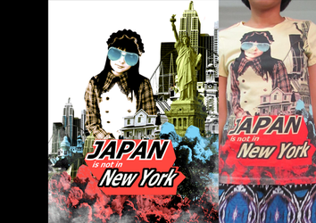 tees not in japan by blackcatdead