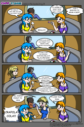 Comic Off Time 01 by candy-sugargirl