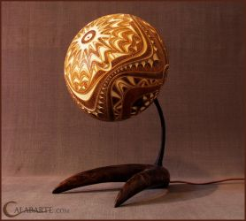 Table lamp XII by Calabarte