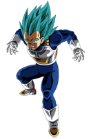 Vegeta SSGSS - RENDER - DOKKAN BATTLE by FradayEsmarkers