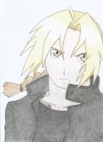 Edward Elric by RedKiddo