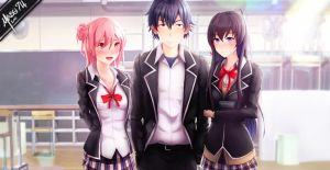 Yahari Ore no Seishun Love Comedy wa Machigatteiru by Massi74