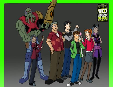 Ben 10: Ultimate Alien Force by Assassin-VariableX