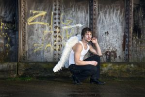 Grunge Angel stock 60 by Random-Acts-Stock