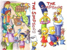 1996 :: The Simpsons VHS home taping by PinkAppleJam