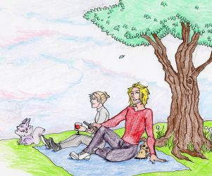 [PTS] A Spring Picnic by cuddlycuttlefish