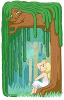 Willow and the Talking Forest by TheCrayonQueen
