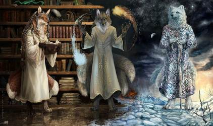 Triptych by NukeRooster