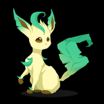 Leafeon by WineChan