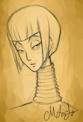 Long Neck by M-Linfa