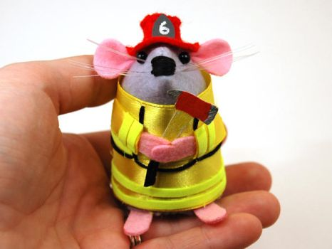 Blaze the Firefighter Mouse by The-House-of-Mouse