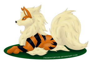 Noble Arcanine by Frozen-Fortune