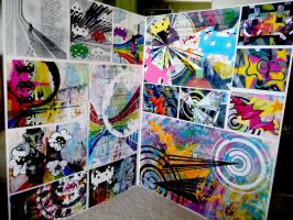 Painting - Term 2,3,4 - 2009 by NewWorldPunk