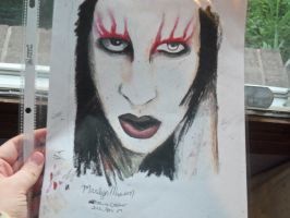 Marilyn Manson by 6maryjane