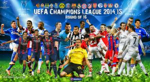 CHAMPIONS LEAGUE WALLPAPER 2015 ( ROUND OF 16 ) by jafarjeef