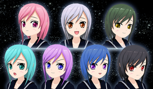 New ComiPo Eye Colors (Eyes F Type 2) - DL by AKIO-NOIR