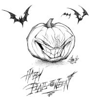 Jack O Lantern Ink by The-HT-Wacom-Man
