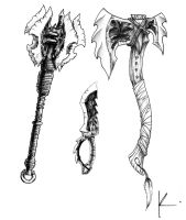 Orc Weapons by Khronen