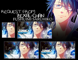 Tagwall Request FUSHIMI SARUHIKO by LouNaART