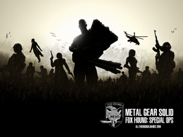 METAL GEAR SOLID: FOX HOUND by alltheoriginalnames