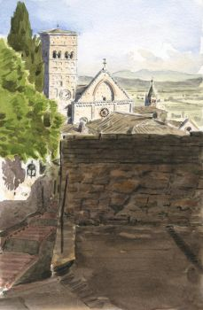 Assisi - Vicolo San Lorenzo by olivier2046