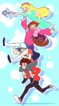 Star + Mabel + Dipper + Marco by Mikeinel