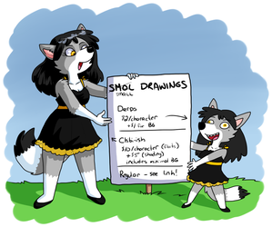 Small Commissions by zenia