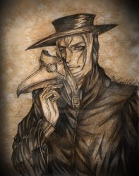 Lucid Misery: The Plague Doctor by Yori14