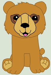 webkinz signature endangered brown bear drawing by lpscat123