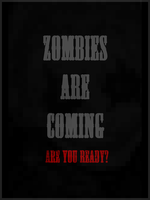 Zombies Are Coming Poster by romancer