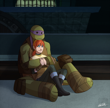 Don and April - Sitting by lledra
