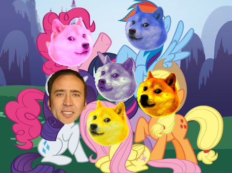 My Little Cage, Doge is Magic by TheReal-Ink-Stain