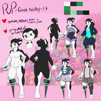 Persona Pup *design update* by PUPPYPOWER123