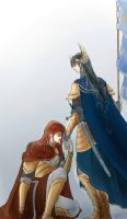 Fingon and Maedhros by MintKim