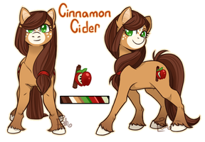 Cinnamon Cider Official  Ref (Next Gen oc) by Eve-Of-Halloween