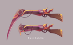 A custom weapon commission 128 by Epic-Soldier