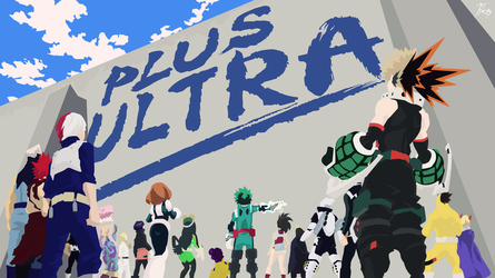 My Hero Academia - Plus Ultra - Wallpaper by diizay