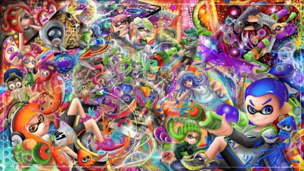 Splatoon by ColorfuLoad