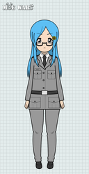 Moe Wars Mascot: Zoey (New Outfit) by darkrchaos