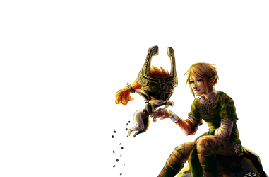 midna and link by jojo56830