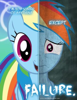 MLP - Two Sides of Rainbow Dash by TehJadeh