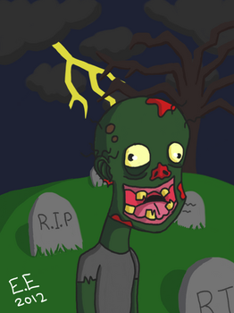 Zed The Zombie by EpilepticEmus