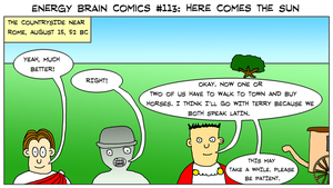 Energy Brain Comics #113: Here Comes The Sun by EnergyBrainComics